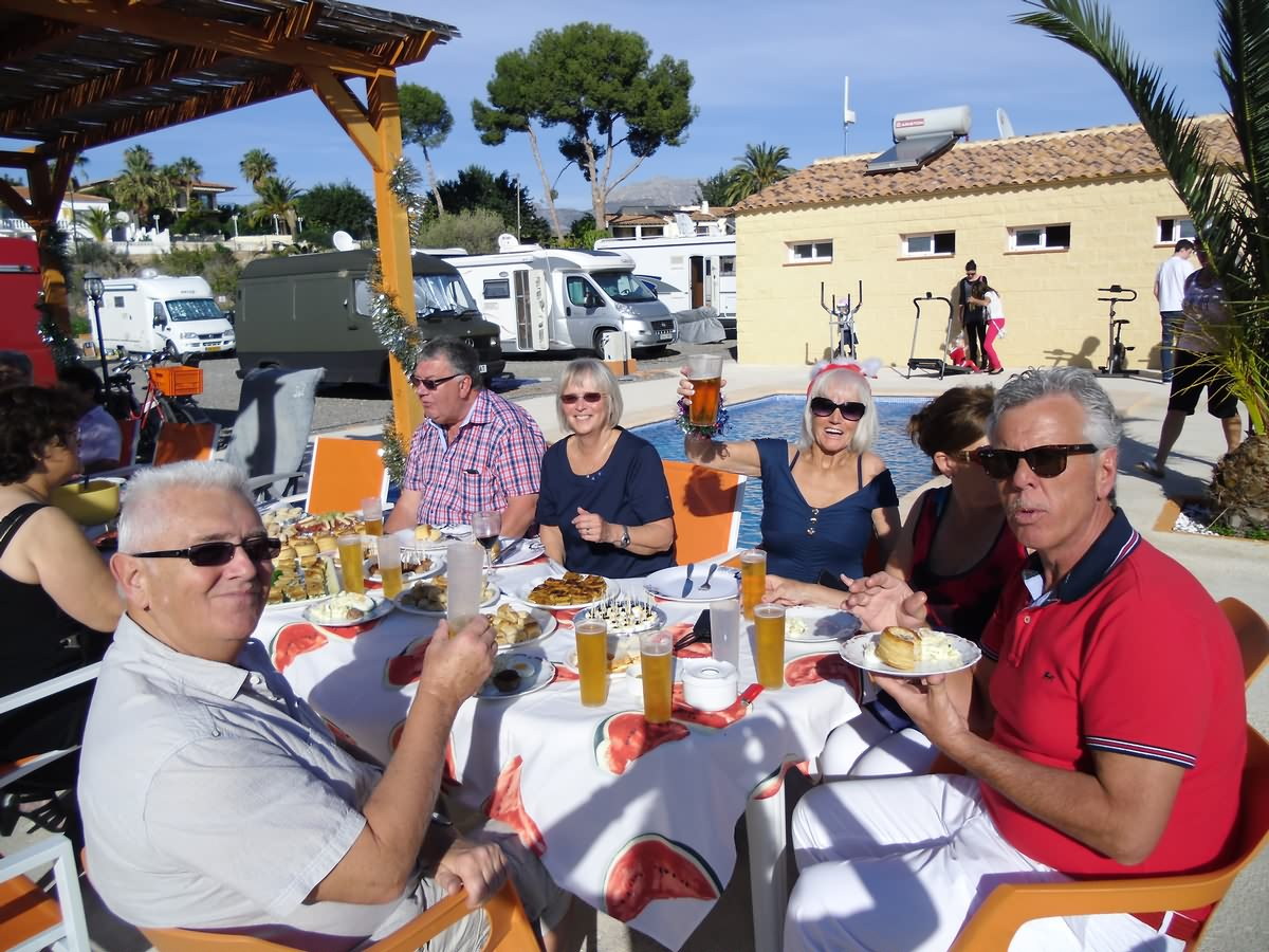 Special Rates for Group Booking in Orange Grove Camper Park, Alfaz del Pí